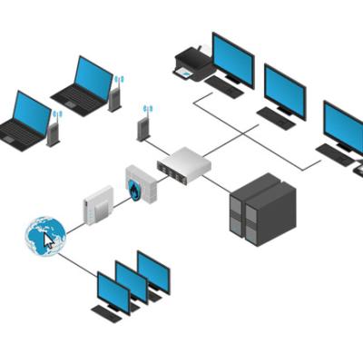 infrastructure réseau entreprise